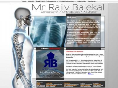 Rajiv Bajekal - Consultant Orthopaedic Surgeon