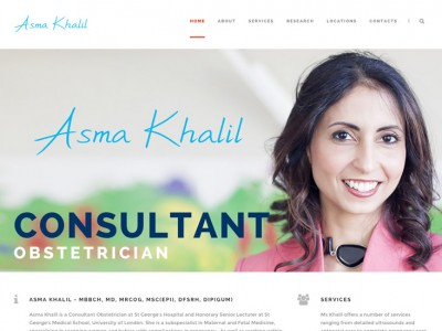 Asma Khalil - Consultant Obstetrician
